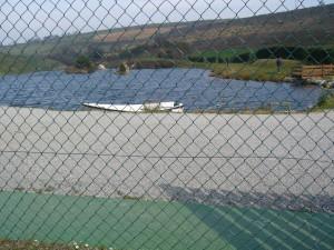 El arenero, coto de pesca intensiva en Tineo